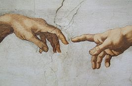 The Creation Michelangelo Italy Vatican - Creative Commons by gnuckx (3492637506).jpg