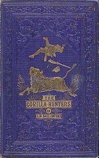 <i>The Gorilla Hunters</i> book by Robert Michael Ballantyne