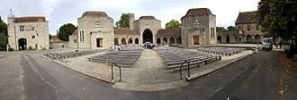 Aylesford Priory - The Great Courtyard