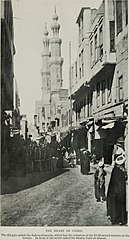 The Heart of Cairo, the Old Gate Called the Bab-es-Zuweyla. (1911) - TIMEA.jpg