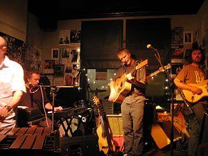 The High Llamas - The High Llamas performing in 2008