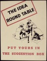 The Idea Round Table. Put Yours In the Suggestion Box - NARA - 534146.tif