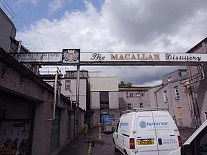 The Macallan distillery - Image: The Macallan Distillery