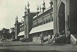 Moore Market Complex railway station - The Moore Market, c. 1905