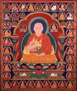 The Ngor Abbot Sanggye Sengge as Lineal Guru of the Path with the Fruit, Tibet, Rubin Museum of Art.jpg