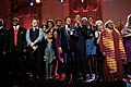 The Obamas sing with Smokey Robinson, Joan Baez and others, 2014.jpg