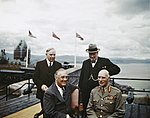 The Quebec Conference, Canada, August 1943 TR1347.jpg