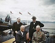 The Quebec Conference, Canada, August 1943 TR1347