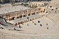 The Roman Theatre of Philadeliphia built during the reign of Antonius Pius, Amman, Jordan (38696888284).jpg