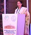 The Speaker, Lok Sabha, Smt. Sumitra Mahajan addressing at the inauguration of the South Asian Speakers' Summit on Achieving the Sustainable Development Goals (SDGs), in Indore, Madhya Pradesh on February 18, 2017.jpg