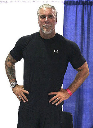 Kevin Nash sure is big