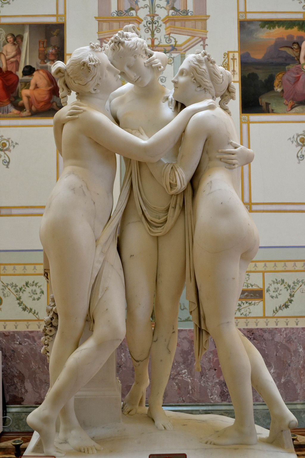 The Three Graces by Antonio Canova1