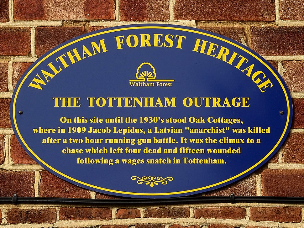 The Tottenham Outrage (Waltham Forest Heritage)