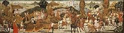 Bernardo di Stefano Rosselli: The Triumph of Alexander