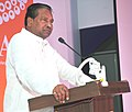 The Union Minister for Textiles, Dr. Kavuru Sambasiva Rao addressing at the inauguration of the Indian 6th Fashion Jewellery & Accessories Show, in Greater Noida, Uttar Pradesh on July 12, 2013.jpg
