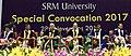 The Vice President, Shri M. Venkaiah Naidu at the Special Convocation 2017 of SRM University, in Chennai.jpg