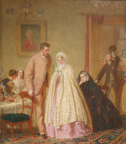 the wedding breakfast 1862 geffrye museum