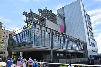 The Whitney Museum, New York City in 2015.JPG