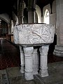The church of All Saints - baptismal font - geograph.org.uk - 707521.jpg