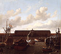The dock of the Dutch East India Company at Amsterdam.jpg