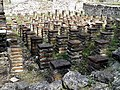 The hypocaust of the Great Baths complex, Ancient Dion (6948481930).jpg