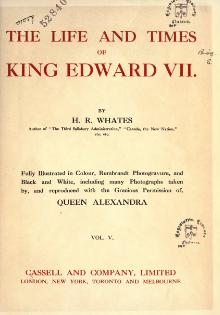The life and times of King Edward VII by Whates, Harry Richard 5.djvu