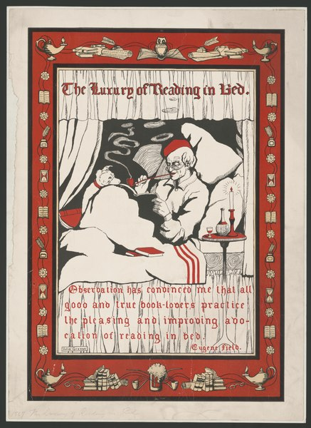 File:The luxury of reading in bed ... - Julia Greene. LCCN2014649600.tif