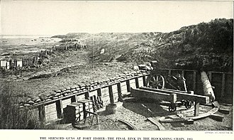 Second Battle of Fort Fisher - Image: The photographic history of the Civil War in ten volumes (1911) (14576053798)