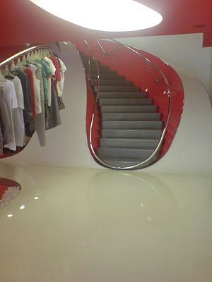 Marni (clothing) - The interior of the London Marni store