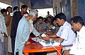 The voters registering their names at a polling booth at Samudayak Bhawan, Nathpur, Bhagalpur, Bihar, during the third phase of General Election-2009 on April, 30, 2009.jpg