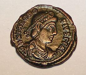 Theodosius I. Roman Coin.jpg