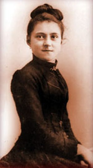 Thérèse of Lisieux - Saint Thérèse at age 15, before entering the Carmelite order.