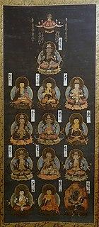Japanese grouping of Buddhist deities
