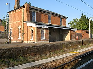 Thorpe-le-Soken railway station - The station building