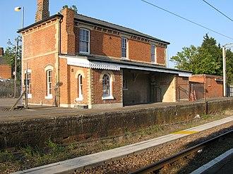 Thorpe-le-Soken railway station - The station building