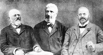 Party of Rights - David Starčević, Ante Starčević and Mile Starčević