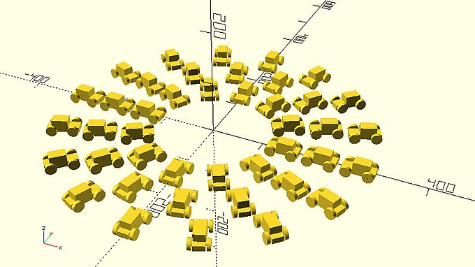 Three circular patterns with increasing number of cars.jpg