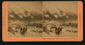Through fields of ice and snow, en route to the Klondyke (Klondike), by Kilburn, B. W. (Benjamin West), 1827-1909.png