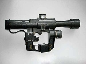 PSO-1 - Russian PSO-1M2 current military issue 4×24 telescopic sight