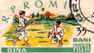 Oină Romanian traditional sport