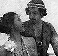 Tina Melinda and Rd Sukarno in Kafedo, Film Varia 2.3 (March 1955), p20.jpg