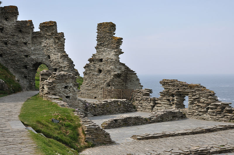Tintagel, Wikimedia Commons