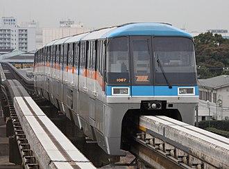 Tokyo Monorail - Image: Tokyo monorail 1000 1067
