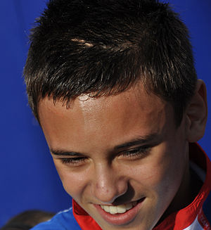 Tom Daley - Tom Daley in 2008