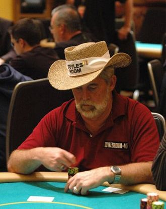 Tom Franklin (poker player) - Franklin in the 2006 World Series of Poker