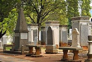 Taman Prasasti Museum - The tombstones of Taman Prasasti Museum.