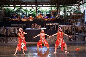 Topeng - Topeng Klana dance