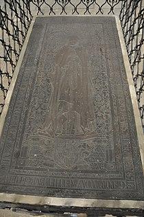 Torgau Marienkirche Grabplatte Sophie von Mecklenburg.jpg