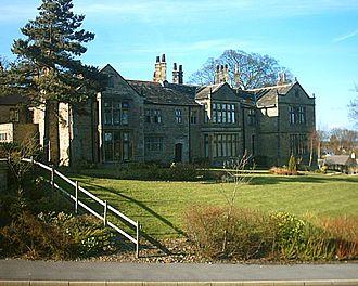 Totley - Totley Hall.