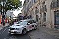 Tour d'Espagne - stage 1 - véhicule Manzana Postobon.jpg